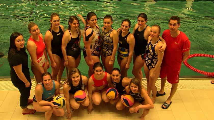 Damen Wasserballnationalteam in Linz